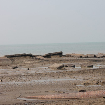 rising sea swamps island along bengal coast bifrost